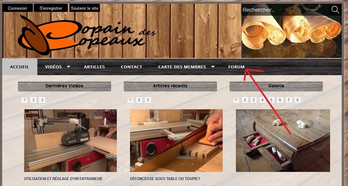 copain des copeaux articles de menuiserie 2012 le. Black Bedroom Furniture Sets. Home Design Ideas