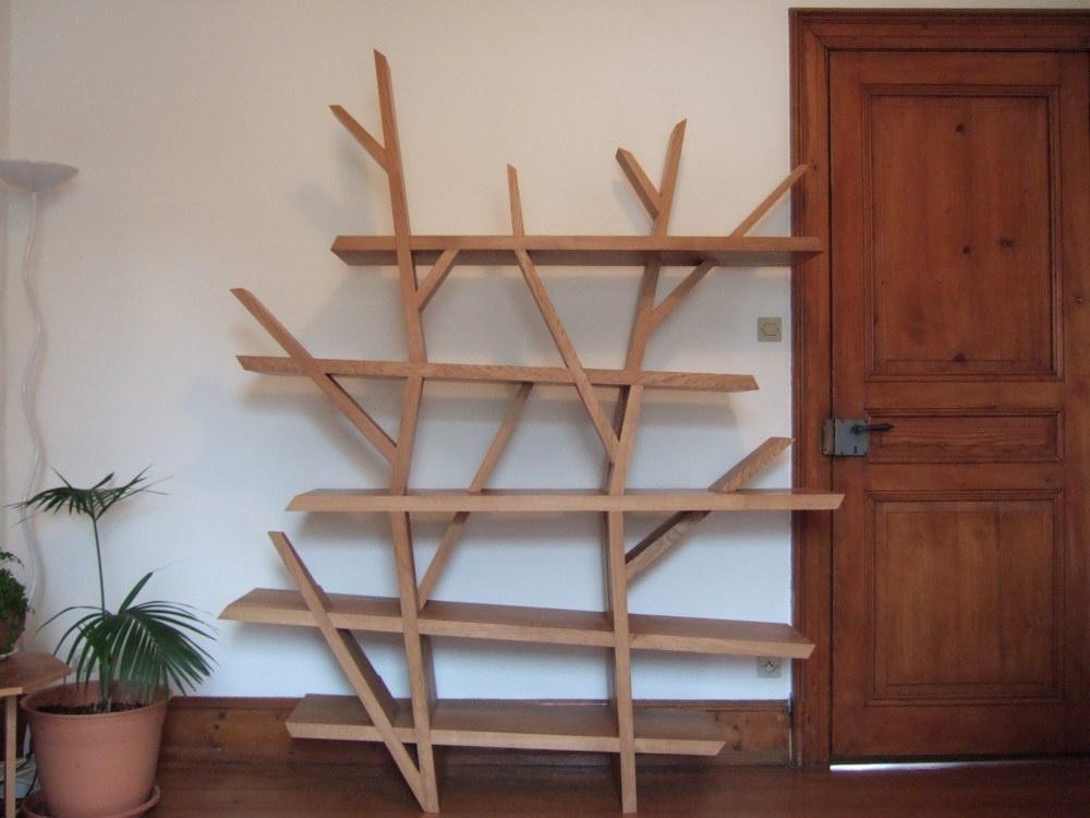 Souvent Copain des Copeaux - videos formation bois 2010 - Etagère arbre  OO29